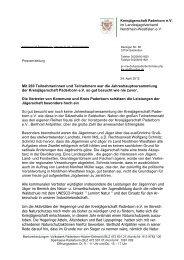 05 12 PM zur JHV der KJS - Landesjagdverband Nordrhein-Westfalen