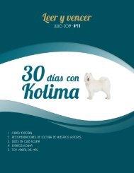 30 días con Kolima - Julio 2019