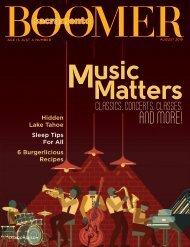 BOOMER Magazine: August 2019
