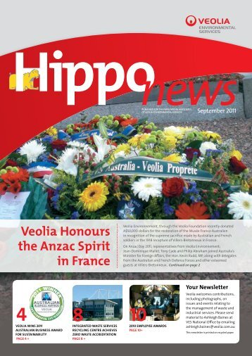 Hippo News - Veolia Environmental Services Australia