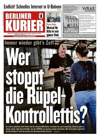 Berliner Kurier 19.07.2019