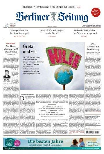 Berliner Zeitung 19.07.2019