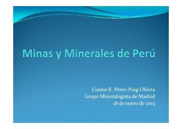 MINAS Y MINERALES DE PERÚ