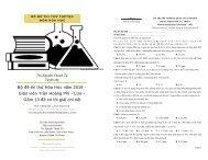 Bộ đề thi thử Hóa Học năm 2019 - Giáo viên Trần Hoàng Phi - Lize - Gồm 13 đề có lời giải chi tiết