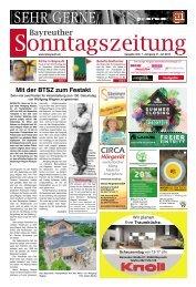 2019-07-21 Bayreuther Sonntagszeitung