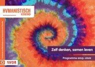 Humanistisch Verbond Arnhem-Rijnstreek - Programma 2019-2020