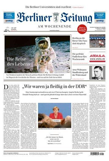 Berliner Zeitung 20.07.2019