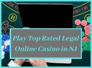 Play Top Rated Legal Online Casino in NJ