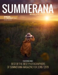 Summerana Magazine August 2019 |The Anniversary Issue | Best of the Best 2018/2019 |