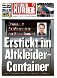 Berliner Kurier 21.07.2019