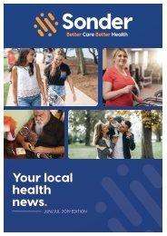 Sonder Your Local Health News - Jun/Jul 2019