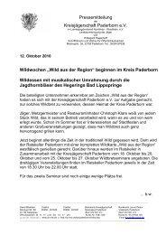 """Wildwochen """"Wild aus der Region"""" - Landesjagdverband Nordrhein ..."""