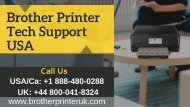 Brother Printer Support | Call +1-888-480-0288