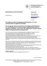 Landesmeisterschaft - Landesjagdverband Nordrhein-Westfalen