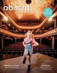 obacht Familienmagazin August/September 2019