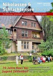 Nikolassee & Schlachtensee Journal August/September 2019