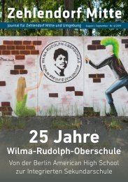 Zehlendorf Mitte Journal August/September 2019