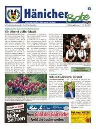 Hänicher Bote | Mai-Ausgabe 2017