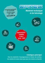 OPITEC Catalogue principal 2019/2021_ V001_be_fr
