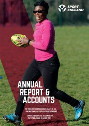 Sport England 2018-19 Annual Report and Accounts