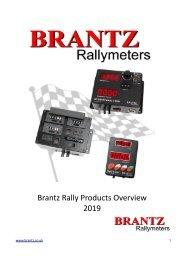 Brantz Rally Product Overview - 2019