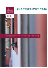 IEG Jahresbericht 2018