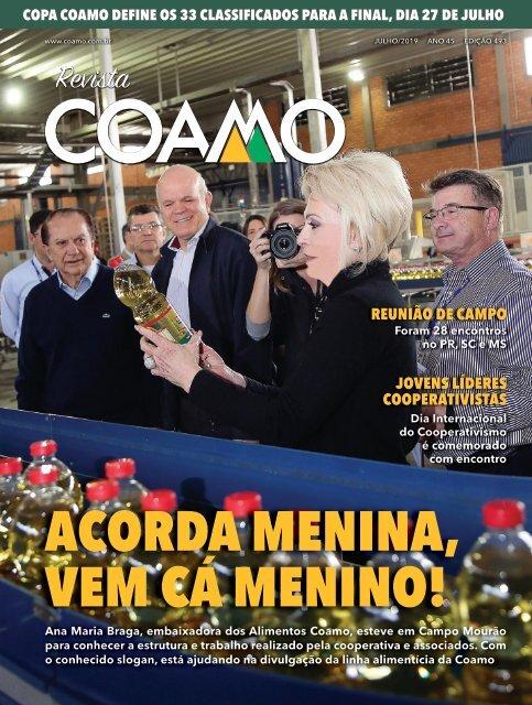 Revista Coamo Edição de Julho de 2019