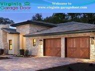 Garage Door Services Virginia