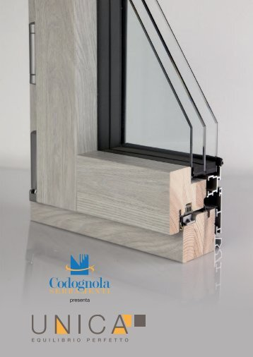 Unica infissi in legno-alluminio