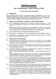 Links merkjagd.pdf - Landesjagdverband Nordrhein-Westfalen