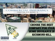 Choose the Best Company for your Home Insurance in Richmond Hill