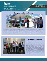 PTT BULLETIN JULY 2019
