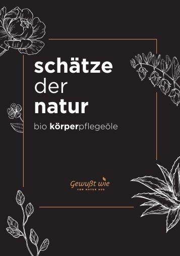 Körperpflegeöle Bio