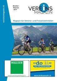 Vereinsmagazin Buendner Rheintal Ausgabe 3 - Onlinemagazin