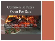 Commercial Pizza Oven For Sale- Fornoclassico.com