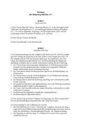 Satzung des Hegering Datteln e.V. - Landesjagdverband Nordrhein ...