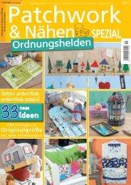 Patchwork & Nähen SPEZIAL Ordnungshelden 05/2019