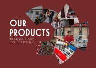 OUR PRODUCTS - KOSOVO READY TO EXPORT 2019