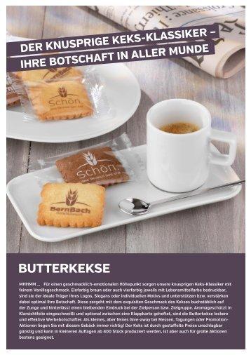 werbemax Butterkekse bedrucken