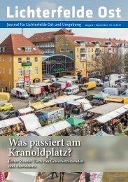 Lichterfelde Ost Journal August/September 2019