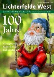 Lichterfelde West Journal August/September 2019