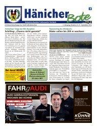 Hänicher Bote | September-Ausgabe 2016