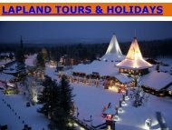 Lapland Holidays by Finland Local Guide