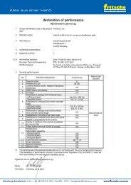 Leistungserklärung fri-fire EU 180