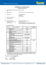 Leistungserklärung fri-fire EU 120 IGU