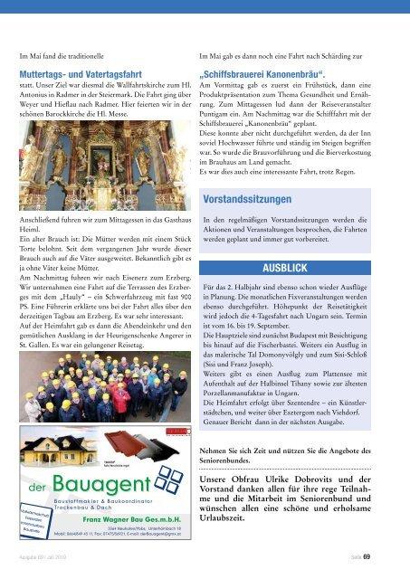 Viehdorfer Nachrichten Juli 2019