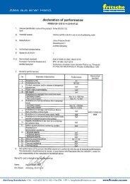 Leistungserklärung fri-fire SG EU 120