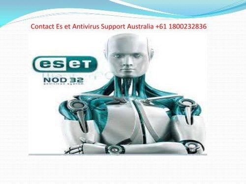 +611800232836 Eset Antivirus Support Australia