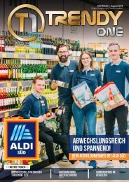 TRENDYone | Das Magazin - Augsburg - August 2019