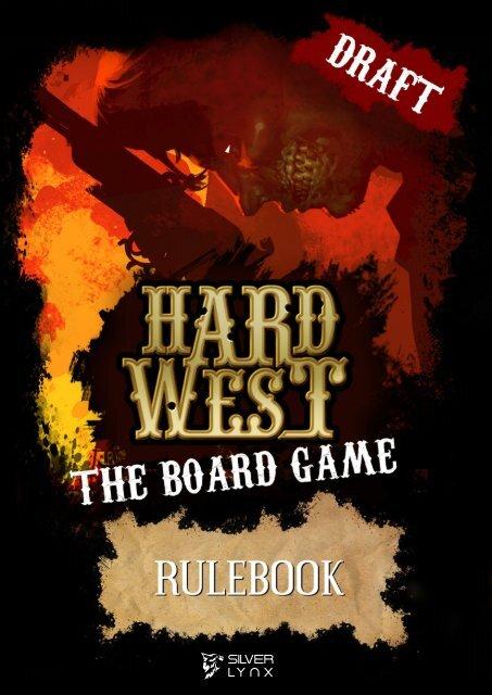 Hard West ⏤ Rulebook Draft [EN]